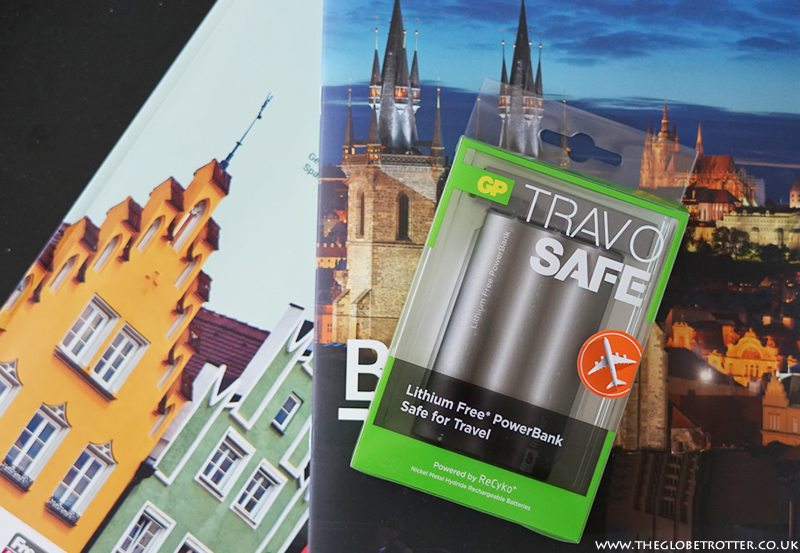 GP Batteries TRAV O SAFE PowerBank