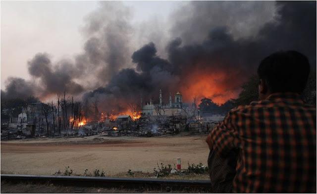 HRW: Kekejaman Militer Myanmar Sudah Diluar Batas Kemanusiaan