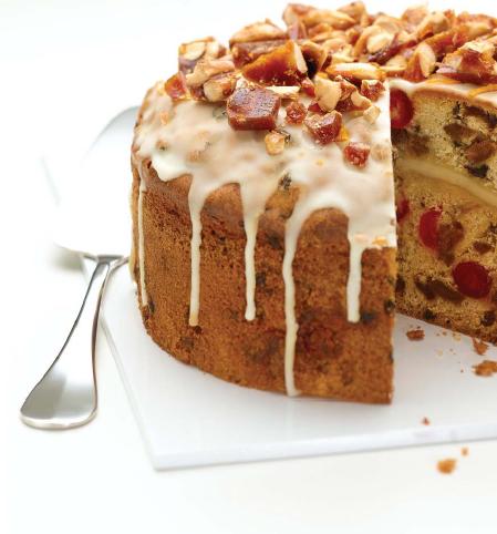 Simnel Cake Recipe Loaf Tin
