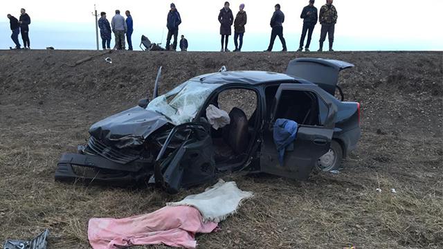 В Нуримановском районе произошло ДТП с двумя погибшими