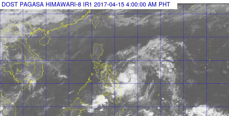 'Bagyong Crising' PAGASA weather update April 15, 2017