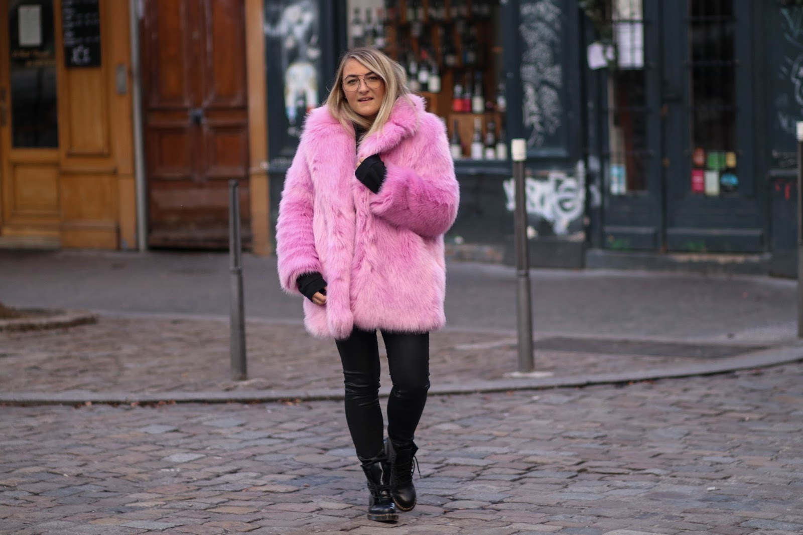 faux fur rose parisgrenoble