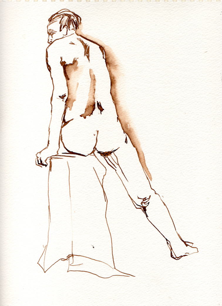 Life Drawing Page Five (2009)