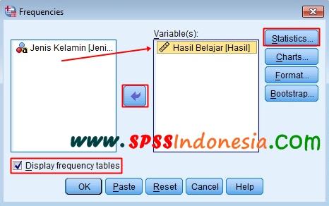 Cara Membuat Tabel Distribusi Frekuensi dan Statistik Deskriptif dengan SPSS