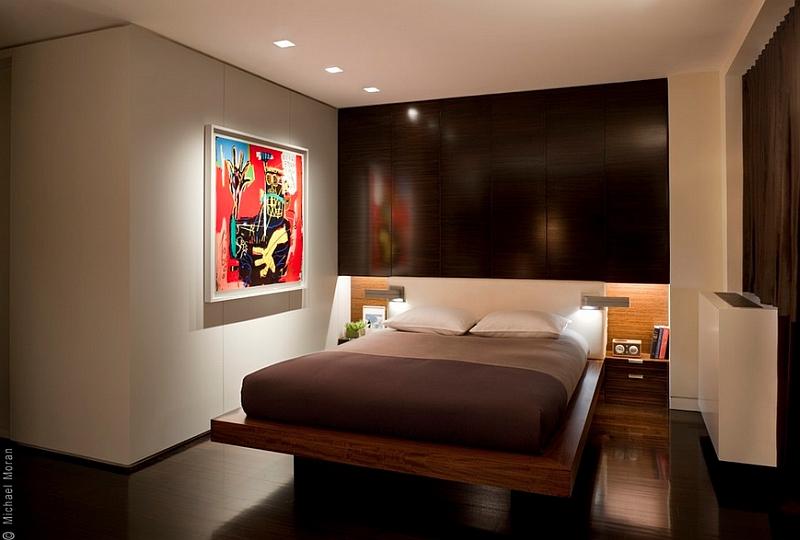inspirasi desain kamar tidur minimalis modern dan praktis