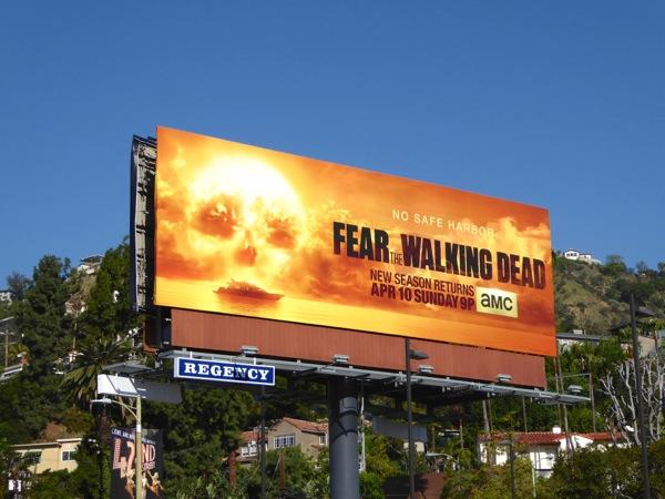 Fear Walking Dead season 2 billboard