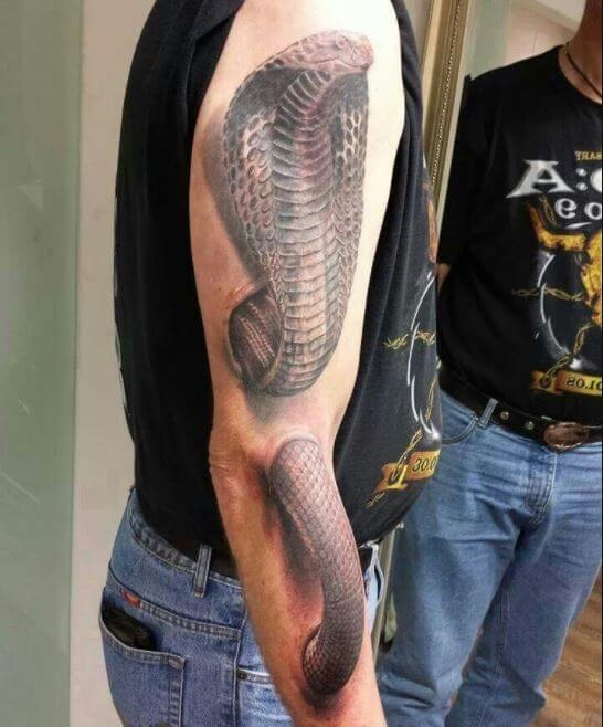 50+ Japanese Snake Tattoos Designs With Meaning (2019