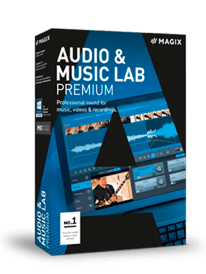 MAGIX Audio Music Lab box