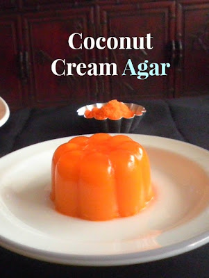 Coconut Cream Agar Recipe @ treatntrick.blogspot.com
