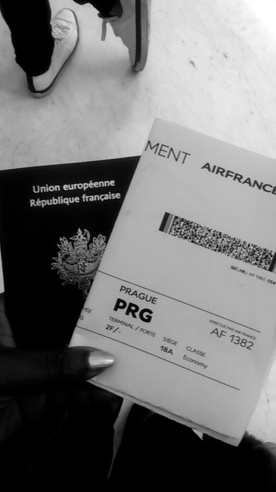 Mon voyage à Prague