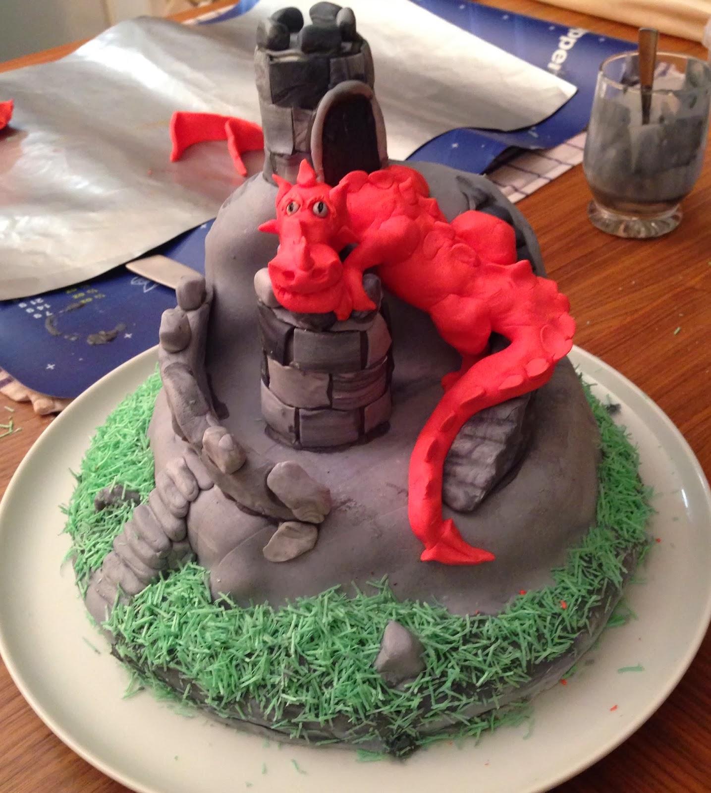 Zuckerschnauzchen Drachenkuchen