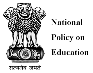 NATIONAL POLICY OF EDUCATION 1986 and Programme of Action 1992