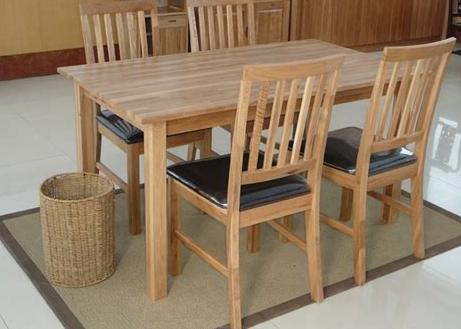 meja makan kayu jati sederhana - kumpulan desain meja makan kayu jati terbaru modern