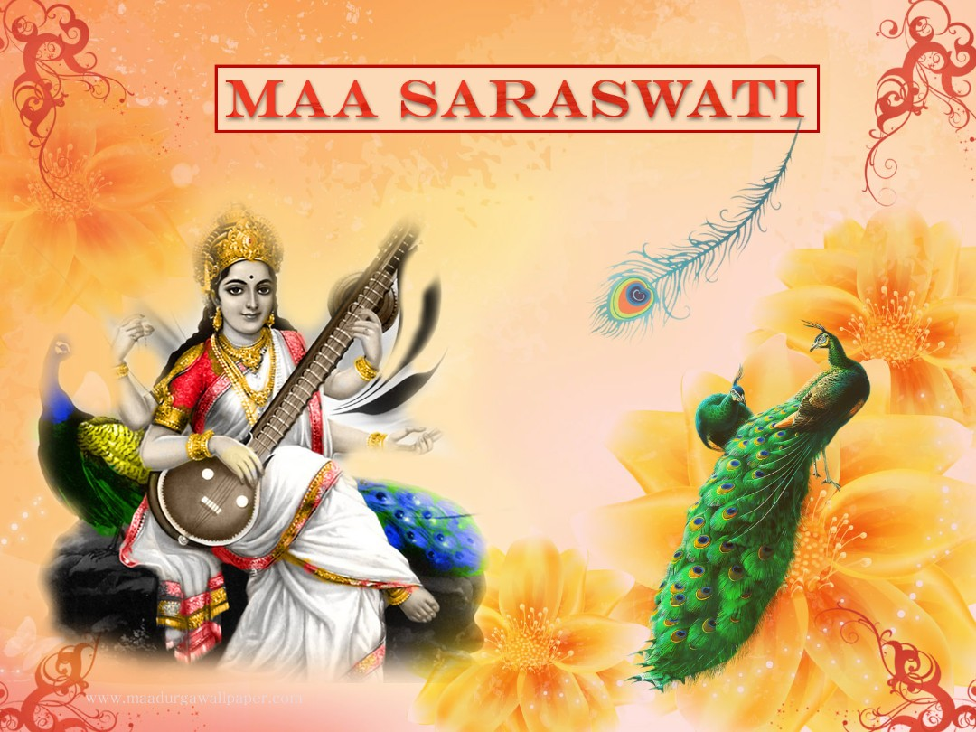 Beautiful Wallpaper Lord Saraswati - goddess-saraswati-mata-hd-photo-wallpaper%2B%25288%2529  Photograph_30516.jpg