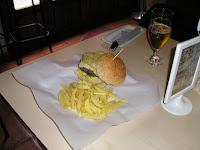 papel antigrasa hamburguesa