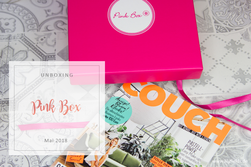 Pink Box - Look Wonderful - unboxing