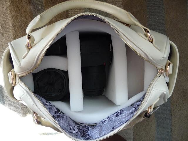 the cape on the corner: DIY DSLR Camera Bag