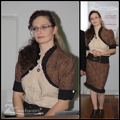 Steampunk-Outfit für die Disputation | www.zeitunschaerfe.de