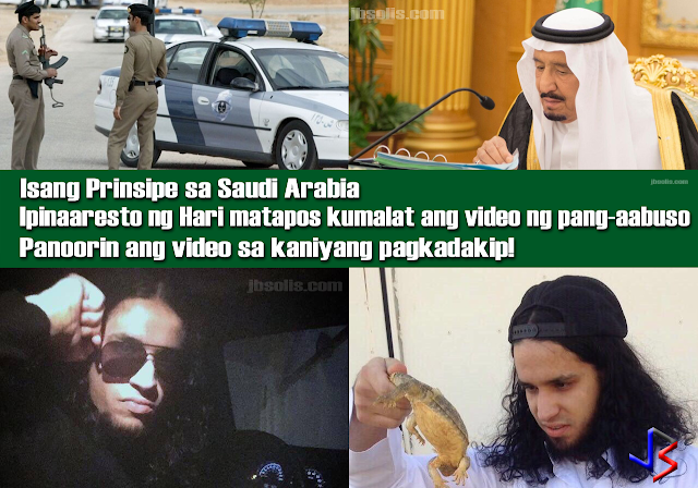 "Riyadh Police have arrested a member of the Saudi royal family who abused citizens verbally and physically in a widely spread video that went viral over the past few days.  Many Saudis celebrated the news on social media as they shared leaked videos (as seen above) of what seems to be the arrest of Prince Saud bin Abdulaziz bin Musaed bin Saud bin Abdulaziz Al Saud. Others are praising the monarch for his strict and apparent equal treatment, regardless of birthright.  One tweet shows the prince being ""booked"" at the local police station. It has been shared more than a hundred times.  The tweet translates """"#Salman_TheStrict_Jails_ThePrince That's the face of the villain after he was arrested. Abu Fahd (King Salman's nickname) does not discriminate between a prince and a citizen, they are all equal. God give him strength.""  The arrest came at the orders of Saudi King Salman who issued an immediate warrant for Prince Saud and the imprisonment of all those involved in abusive behavior towards citizens.  The arrest order may have been brought about by disturbing footage showing abusive actions committed by Prince Saud and a number of associates that were widely spread and have triggered angry reactions. That video is believed to be the one below.  GRAPHIC WARNING: The video is violent, and shows people being verbally and physically abused. Do not watch the video below if you get upset by the sight of violence or blood.  The Saudi king's order instructs that all of the accused must be held in prison until the testimonies of all the victims as well as the accused men are heard. A court ruling must also be issued swiftly. The king's orders pointed out that the law must apply to everyone, and that equal protection of the law is granted to all, regardless of their status.  This is not the first time that a legal proceeding and verdict is swiftly and publicly taken against a member of the Saudi royal family.  Last October, Prince Turki bin Saud bin Turki bin Saud Al-Kabeer was beheaded in Riyadh for the murder of Adel bin Suleiman bin Abdulkareem Al-Muhaimeed, a fellow Saudi citizen."