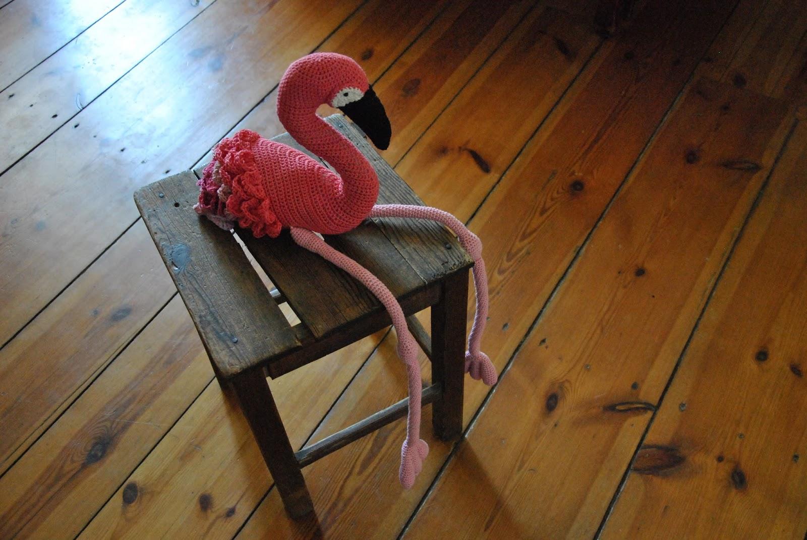 Einen Flamingo Häkeln Meiliese