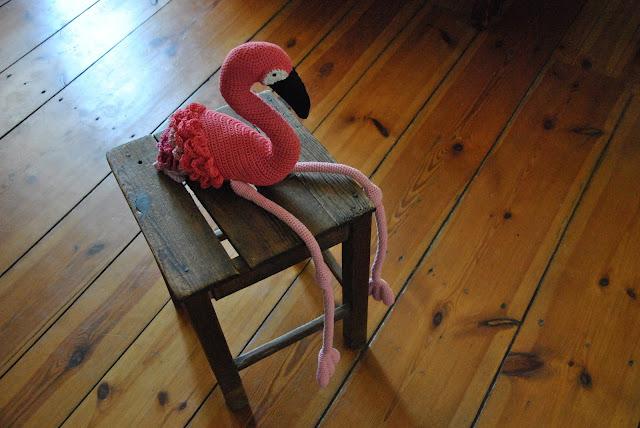 Gehäkelter Flamingo Inga
