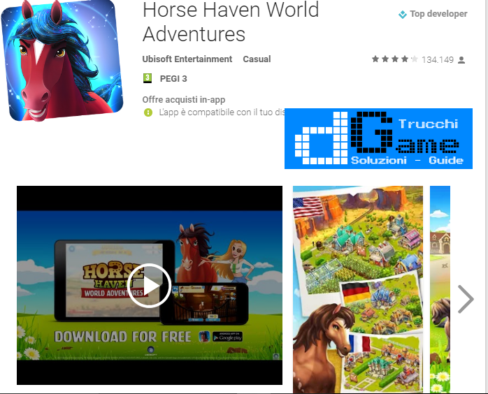 Trucchi Horse Haven World Adventures Mod Apk Android v3.6.0