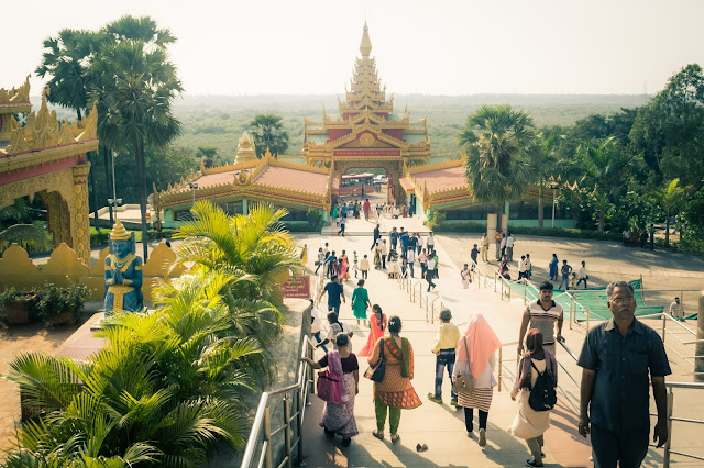 Global Vipassana Pagoda in Mumbai, India