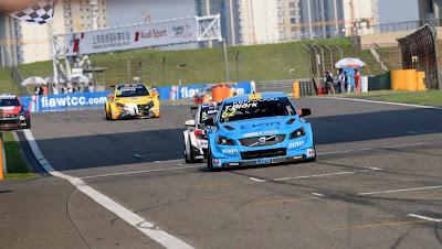 Πρώτη νίκη για τη Volvo στο WTCC