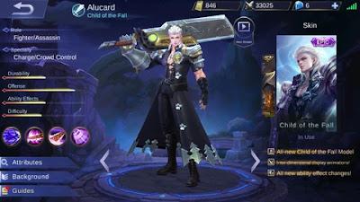 Script Skin Epic Alucard Mobile Legends