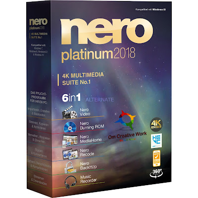 Nero Platinum Suite V19 Free download PC Software