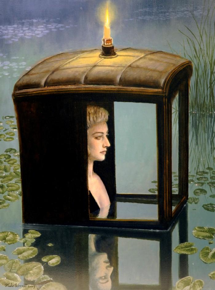 Сюрреалистические картины. Mike Worrall