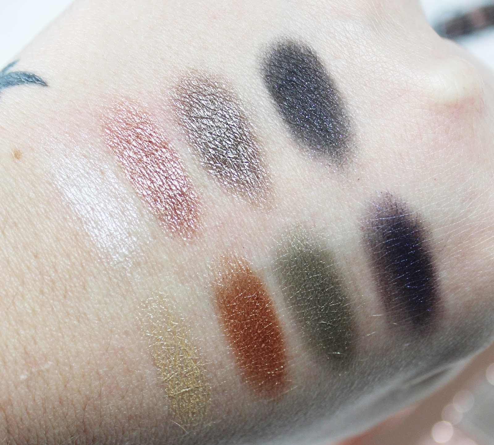 Lorac Pro Metal Rose Gold Review Swatches