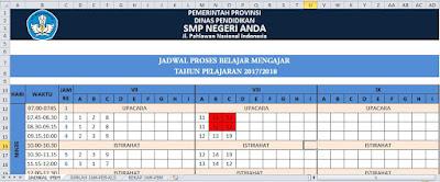 Aplikasi Jadwal Pelajaran SMP
