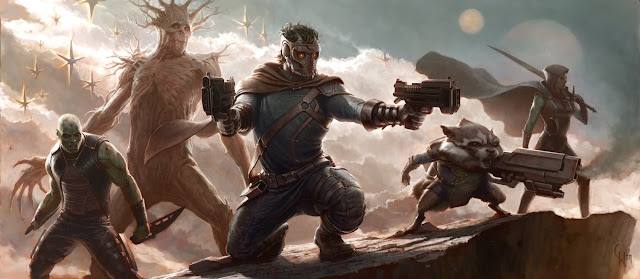 Marvel's Guardians of the Galaxy Concept Artwork