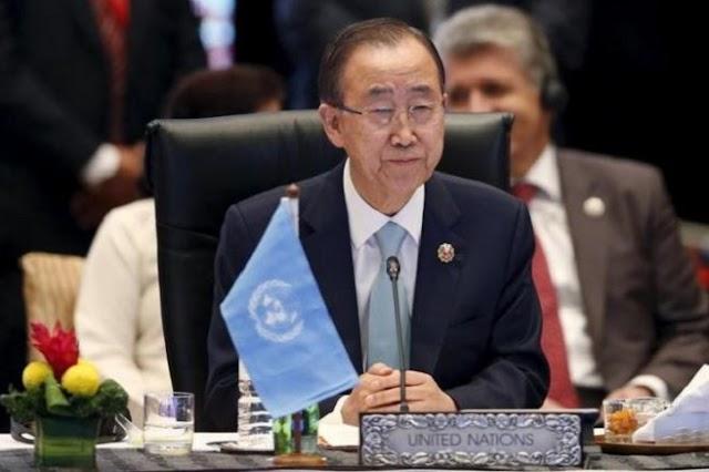 Έκκληση του Γ.Γ. του ΟΗΕ, Μπαν Κι Μουν, σε ΗΠΑ και Ρωσία για συνεργασία εναντίον του ISIS