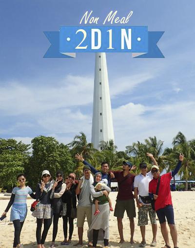 Paket Wisata Belitung Non Meal 2D1N