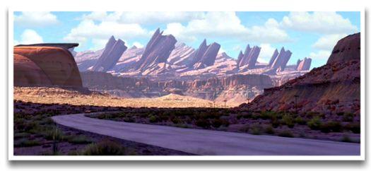 Pixar S Route 66 Cadillac Ranch