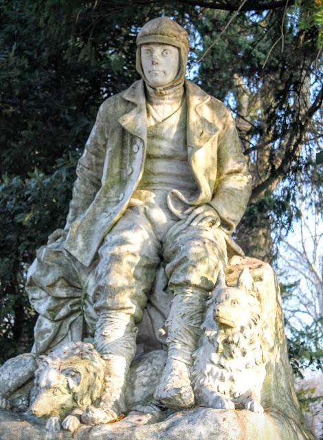 Statue of Francesco Querini, I Giardini Pubblici, Venice