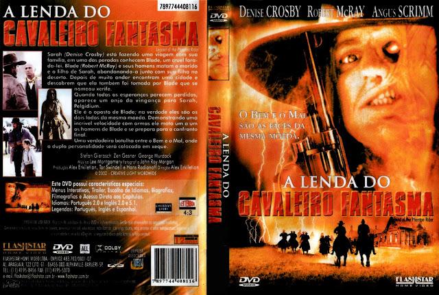 Capa DVD A Lenda do Cavaleiro Fantasma