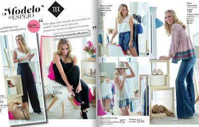 catalogo digital ropa  Carrefour marzo mayo 2016