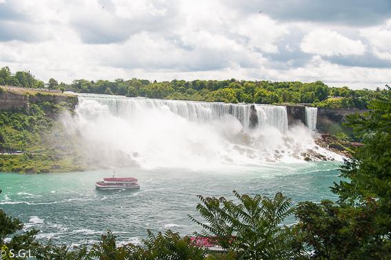 Niagara falls. Las cataratas del Niagara