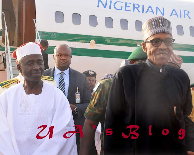 President Buhari Returns To Abuja After Official Visit To US