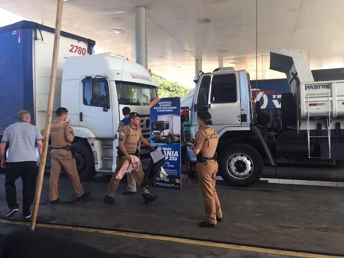 Tragédia: Frentista morre esmagado por caminhões enquanto trabalhava