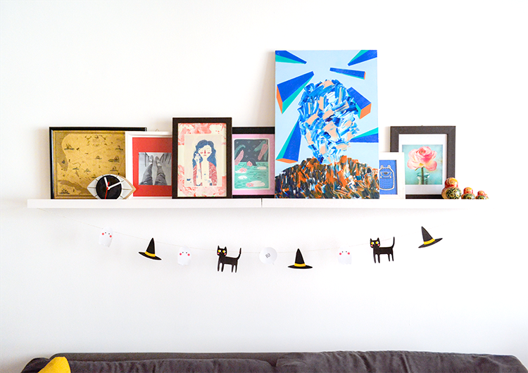 freebie: ideias para decorar a sua casa de maneira rápida e barata para o halloween! | espanta-papao