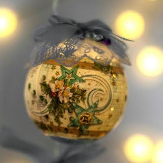 Świąteczne ozdoby z folią termokurczliwą
