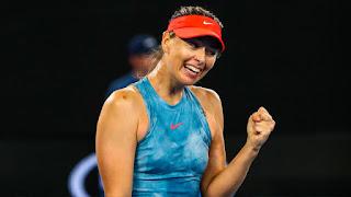بطولة أستراليا المفتوحة 2019: شارابوفا تفوز على حامل اللقب كارولين فوزنياكي لتتأهل إلى الدور الرابع من بطولة أستراليا المفتوحة للتنس