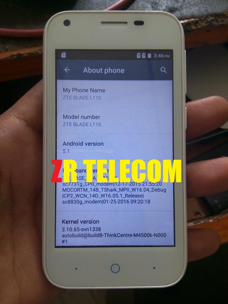 ZTE L110 FLASH FILE SPD7731 V 5 1 FIRMWARE CM2 100%TESTED BY