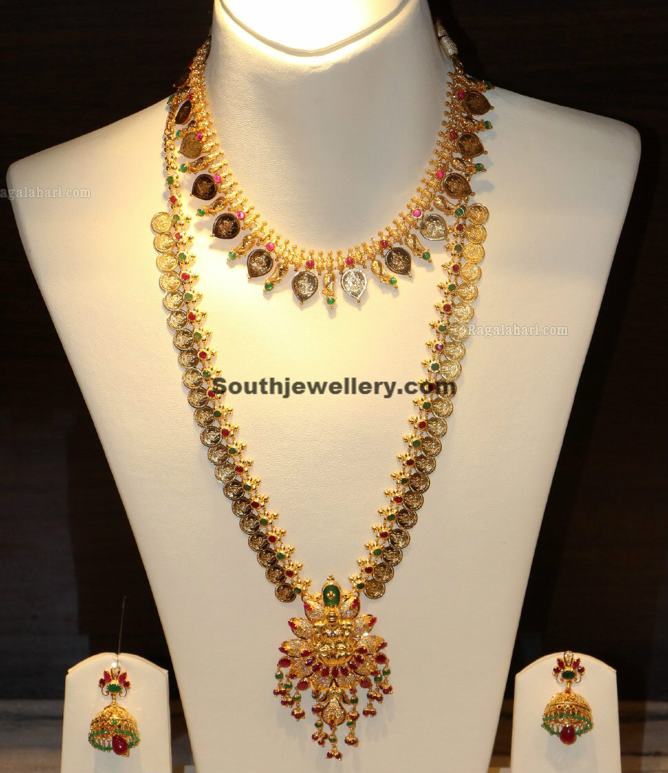 Kasula Peru Necklace and Long Chain - Jewellery Designs