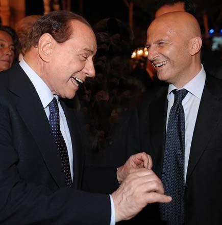 Berlusconi e Minzolini