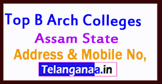 B Arch Colleges in Assam